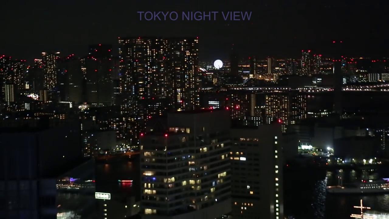 Ternyata Begini Pemandangan Tokyo Jepang Malam Hari Youtube