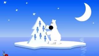 Funny  Animated E-card . Bear .