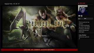 Resident Evil 4 STREAM IS BACK Part 3 Live With Waller Life
