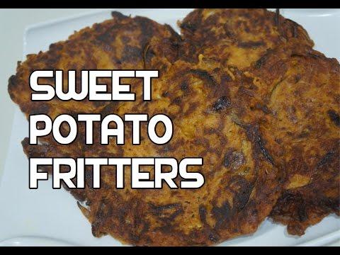 Sweet Potato Fritters Recipe Video