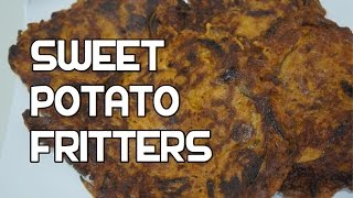 Sweet Potato Fritters Recipe Video