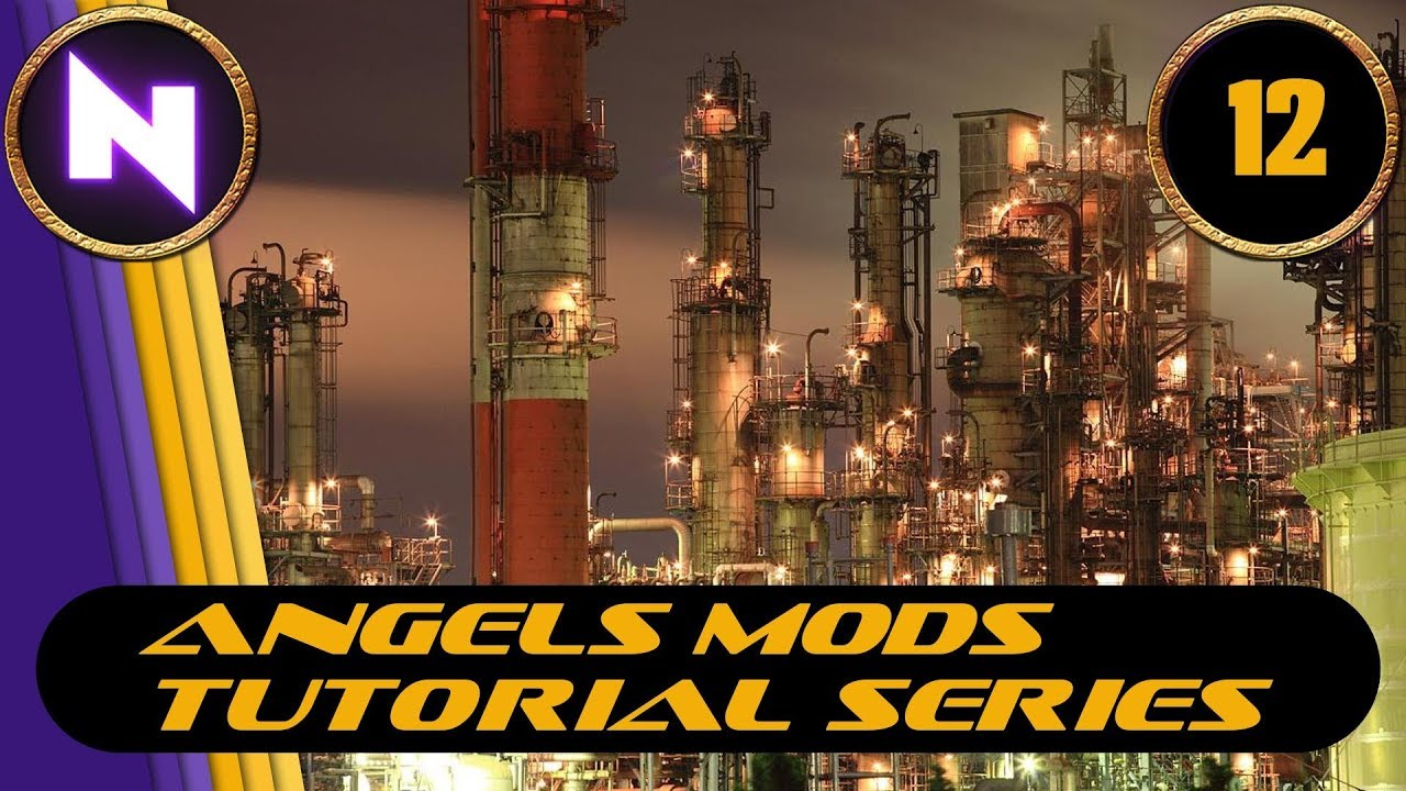 Factorio 0 16 - Angels Mods Tutorial Lets Play #12 COPPER & STEEL SMELTING