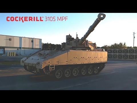 CMI Defence - Cockerill 3105 Mobile Protected Firepower (MPF) [720p]