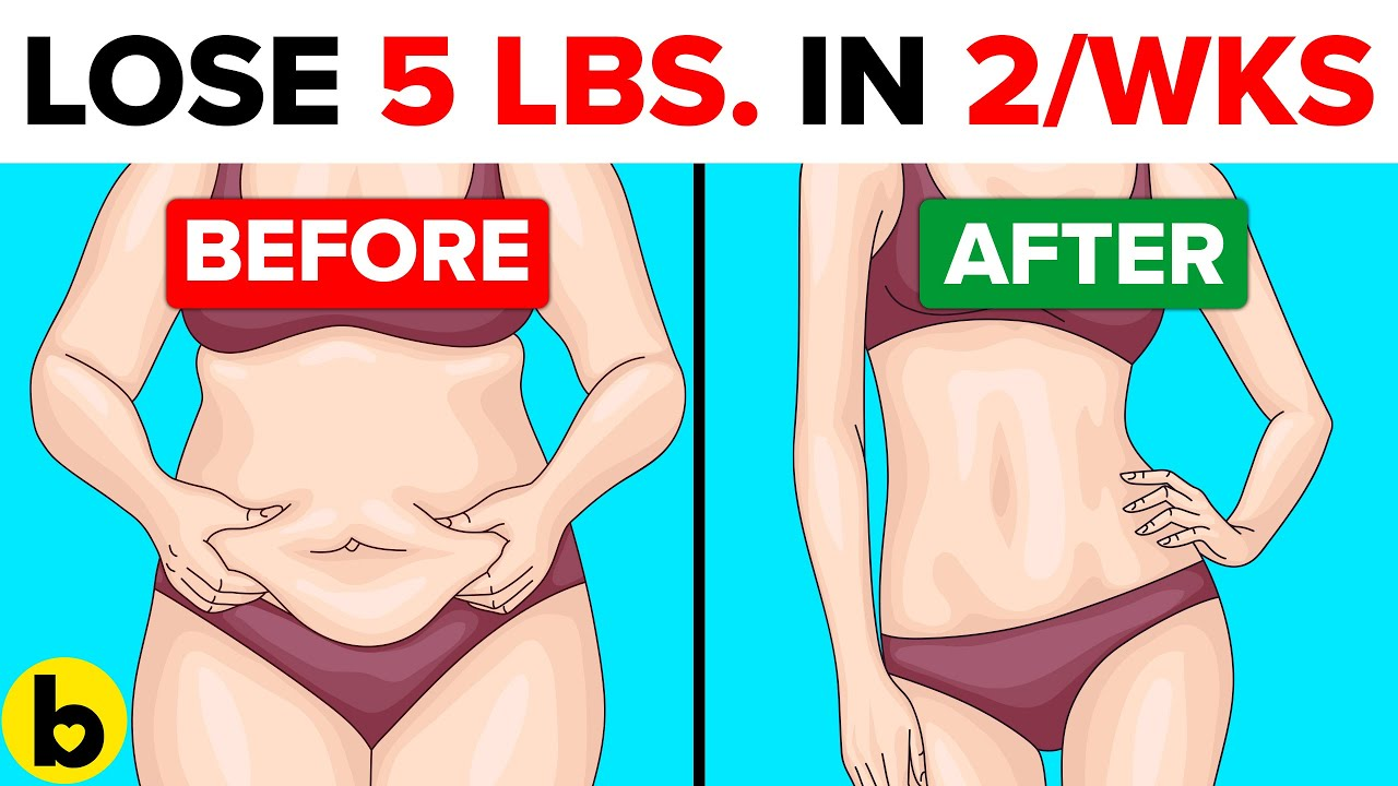 Best Weight Loss Tips To Lose 5 Pounds In Just 2 Weeks Safely