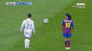 10 Times Cristiano Ronaldo Copied Ronaldinho