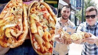 Pizza Burrito - David VS Restaurants #6
