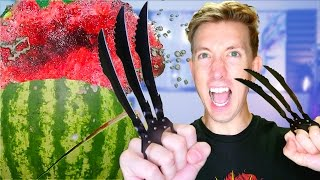 5 Shadow Fight 2 Weapons vs Fruit Ninja thumbnail
