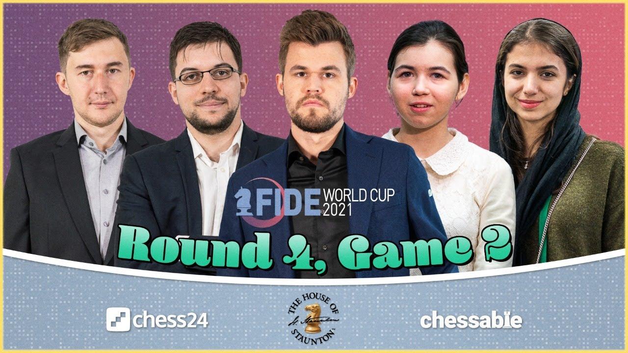 Download FIDE World Cup, Round 4.2 | Jan Gustafsson & Laurent Fressinet