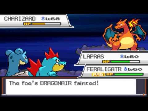 Pokémon Soul Silver - Battle vs. Leader Clair & Champion Lance