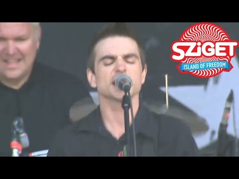 Anti-Flag Live - I'd Tell You But... @ Sziget 2014
