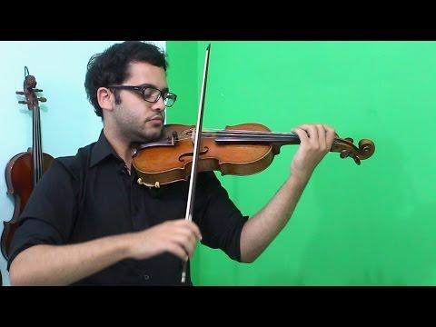 COMO PASSAR O ARCO E ÂNGULOS PARA TOCAR CADA CORDA | Aulas de Violino Online | INTRODUÇÃO #9
