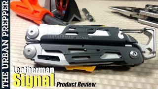 Leatherman Signal Review by TheUrbanPrepper
