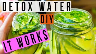 DIY Ayurvedic Detox Water | Weight Loss, Clear Skin, Flat Belly, Anti-Aging Recipe | Himani Wright