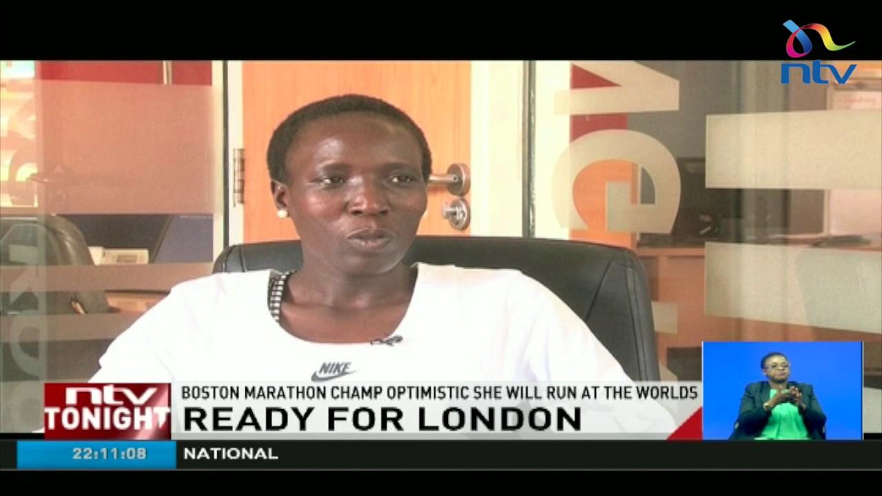 Ready for London: Boston Marathon champ optimistic she will run at the worlds