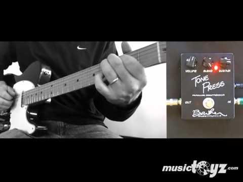 Barber Tone Press Compresor Guitar Pedal