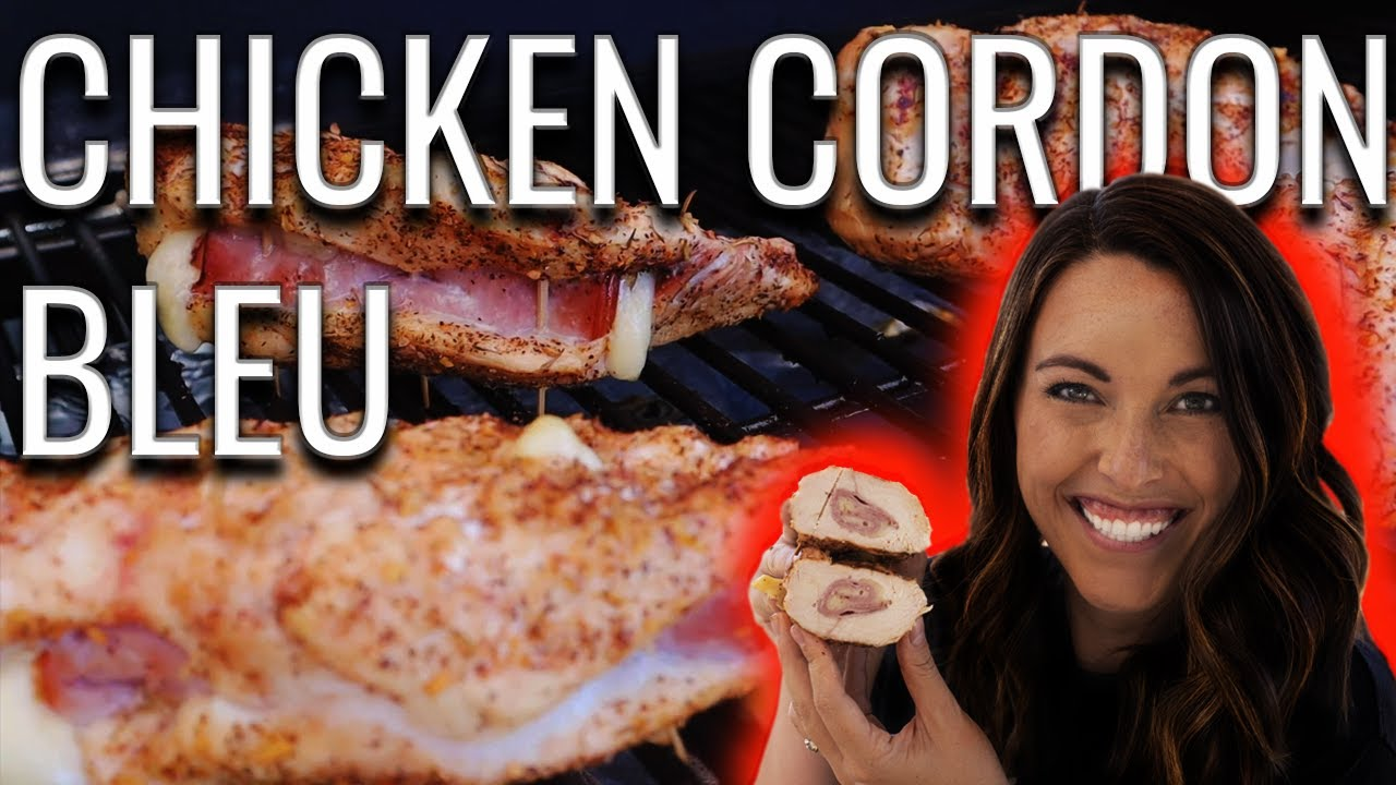AMAZING Grilled Chicken Cordon Bleu   How To