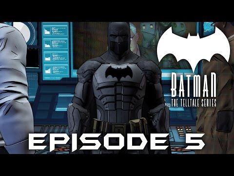 BATMAN Telltale EPISODE 5 FINALE Gameplay Walkthrough (FULL EPISODE) City of Light