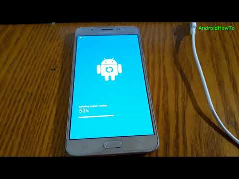 OTA update Samsung Galaxy A9 Pro SM-A910F to Android 7.0 Nougat
