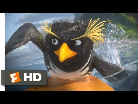 Surf's Up - Cody vs. Tank Surf Off Scene (2/10) | Movieclips