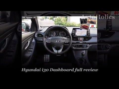 Special Hyundai I30 Dashboard Show Off - AutoHolics Spy Shot (perfect Shot)