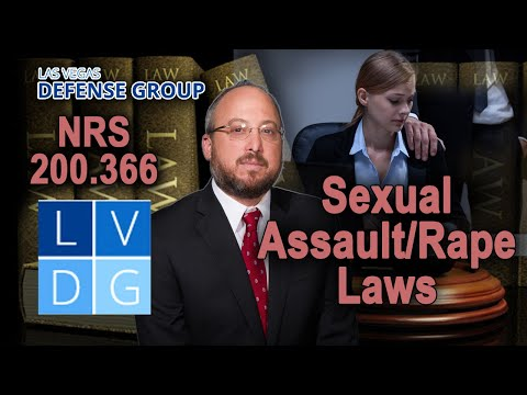 Falsely Accused of Sexual Assault in Nevada