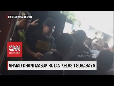 Ahmad Dhani Masuk Rutan Kelas 1 Surabaya Mp3