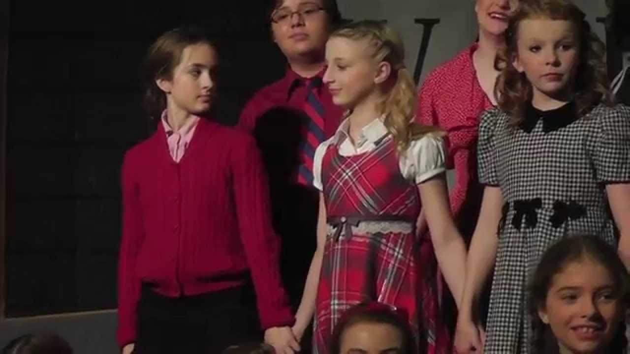 Gracelyn as Esther Jane in A Christmas Story the Musical - YouTube