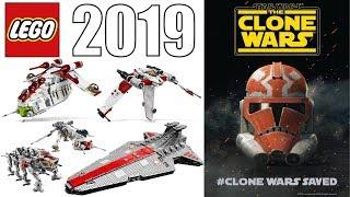 LEGO Star Wars #CLONEWARSSAVED 2019 & BEYOND!