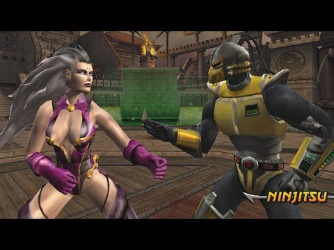 Mortal Kombat Armageddon SINDEL (FLAWLESS VICTORY) - VERY HARD (PS2)【TAS】 thumbnail