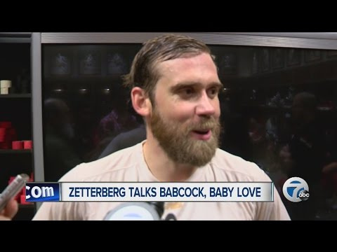 Henrik Zetterberg talks baby name Love