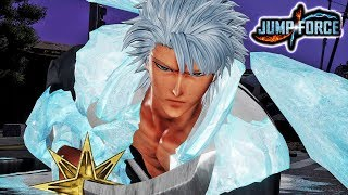 JUMP FORCE - NEW Toshiro Hitsugaya DLC Pack 3 Gameplay Screenshots & Bankai Moveset