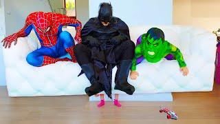 Адриана помогает Супергероям вернуть Суперсилу! История о Супергероях для Детей