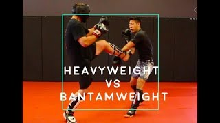 Bantamweight vs. Heavyweight Sparring Breakdown Ep 14