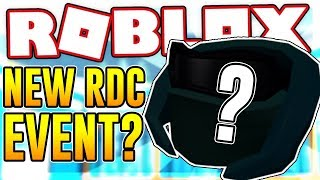NEW RDC EVENT COMING SOON? | Roblox