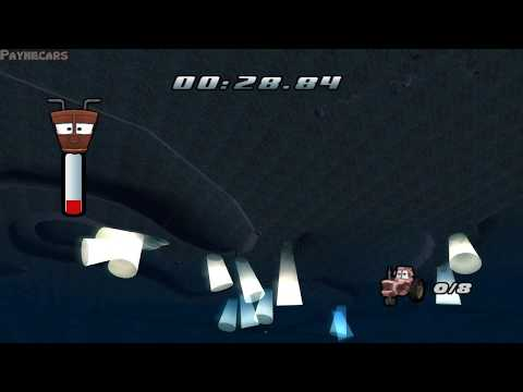 Cars: The Video Game: Out Of Bounds Glitch [Tractor Tipping Level 7]
