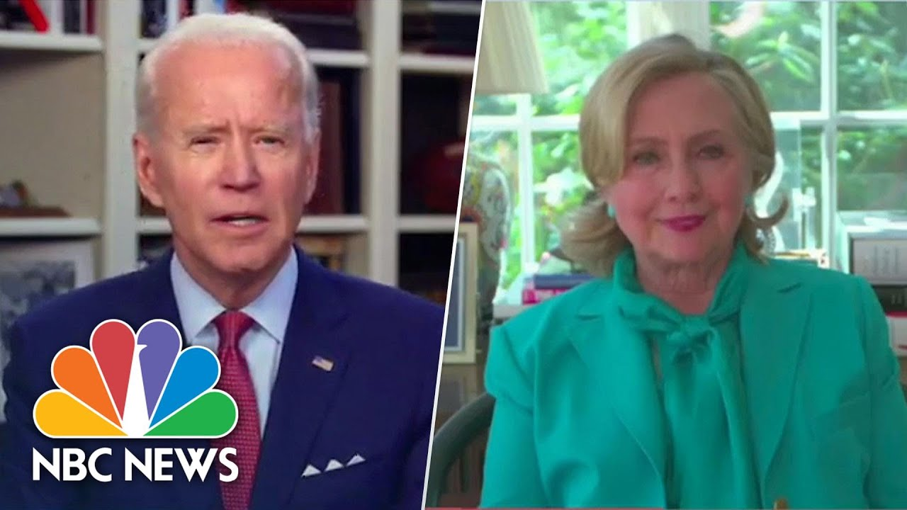 Clinton Endorses Biden: 'We Need A Real President' Not Someone 'Who Plays One On TV' | NBC News NOW - NBC News thumbnail