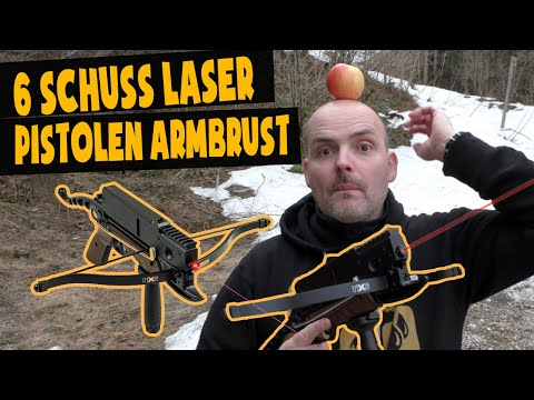 Die 6 Schuss Laser Armbrust für Scharfschützen!