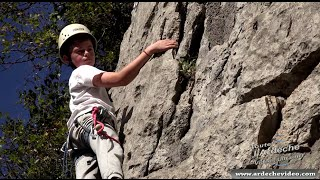Ardèche - Escalade Chassezac - Antoine, graine de champion (4K)
