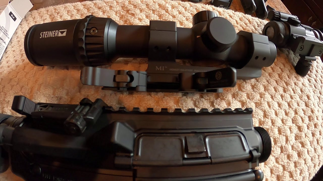 AR-15 Magpul 45 Degree Off-Set Rear Sight/Midwest QD Scope Mount Fail!