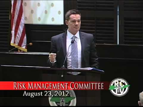 Risk Management Committee - August 23, 2012