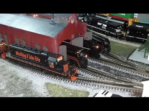 Model Railway Toy Train Track Plans -MTH DCS O Scale Train Layout Update (December 2014)