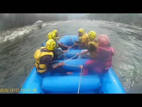 Rafting beas in kulumanali himachal Pradesh