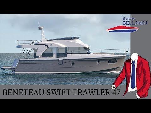 Beneteau Swift Trawler 47 [novità in anteptima dal salone di Cannes 2018]