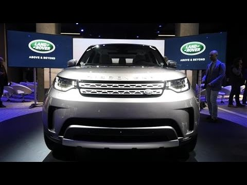 Land Rover Unveils New Discovery for the Digital Age