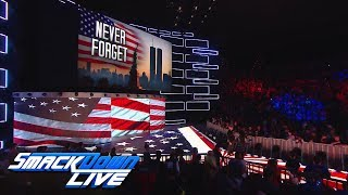WWE remembers those lost on Sept. 11, 2001: SmackDown LIVE, Sept. 11, 2018