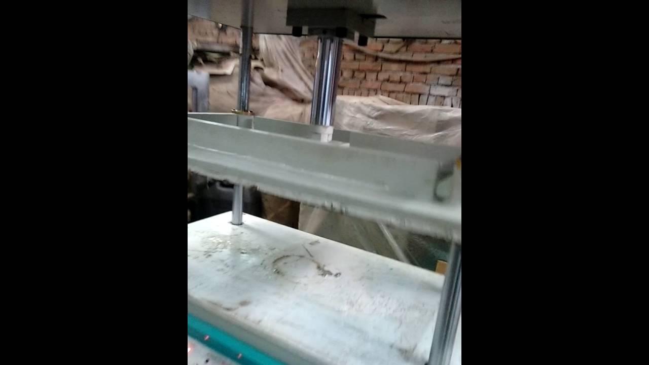Dab press for book Binding