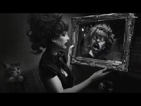Страшное отражение в зеркале,почему зеркало искажает нашу внешность