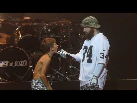 """Teen Spirit & Killing in the Name (With Kid Onstage)"" Limp Bizkit@Camden, NJ 10/6/18"