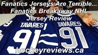 fanatics hockey jersey