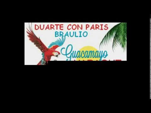 BRAULIO  DUARTE CON PARIS KARAOKE EXCLUSIVO